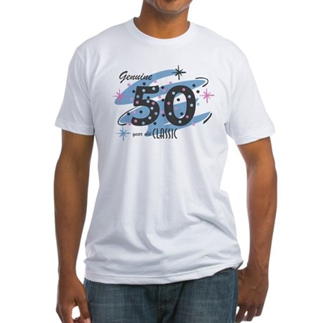 Classic 50 Confetti Fitted T-Shirt