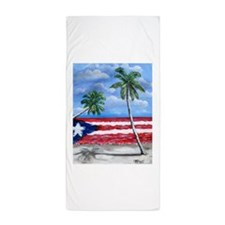 Palmas de Puerto Rico Beach Towel
