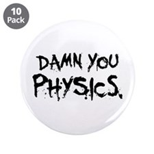 "Damn Physics 3.5"" Button (10 pack)"
