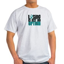Scleroderma Losing Not Option T-Shirt