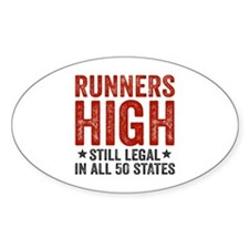 Runners High Still Legal In All 50  Decal