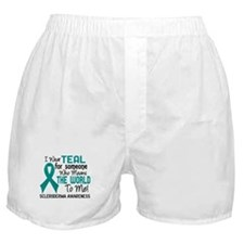 Scleroderma Means World To Me 2 Boxer Shorts