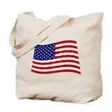 Cool Patriotic Tote Bag
