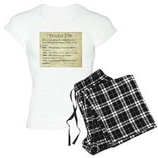 October 27th Pajamas