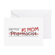 Job Mom Pharmacist Greeting Card