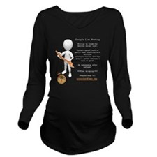 Marbles4MS Craig's P Long Sleeve Maternity T-Shirt