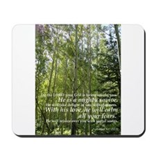 Gods Cathedral (Aspens and Verse) Mousepad