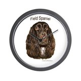 Field Spaniel liver Wall Clock