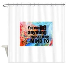 You Can Do Anything. Inspirational Saying Shower C