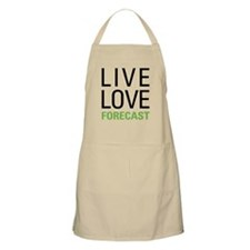 Live Love Forecast Apron