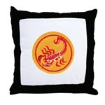 African Terrorist Hunter Throw Pillow