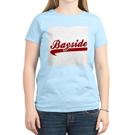 Bayside Tigers (Distressed) Womens Light T-Shirt