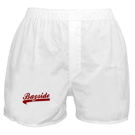 Bayside Tigers (Distressed) Boxer Shorts