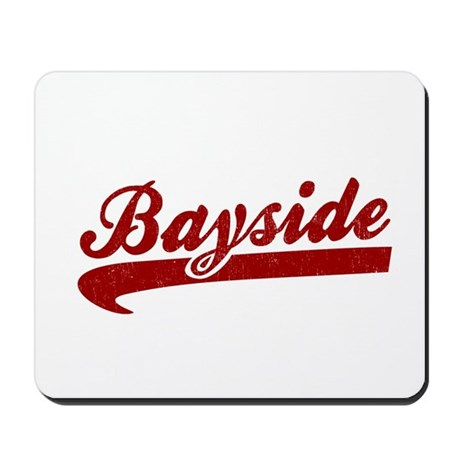 Bayside Tigers (Distressed) Mousepad