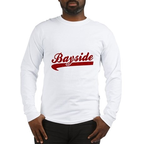 Bayside Tigers (Distressed) Long Sleeve T-Shirt