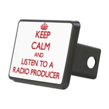 Keep Calm and Listen to a Radio Producer Hitch Cov
