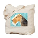 Airedale Terrier Stuff Tote Bag