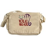 Cheshire cat Messenger Bags & Laptop Bags