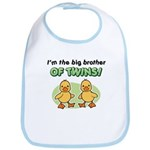 Big Brother of twins - Ducks Bib