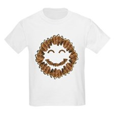 Morel Mushrooms Smiley face: T-Shirt