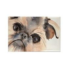 Brussels Griffon Stuff Rectangle Magnet