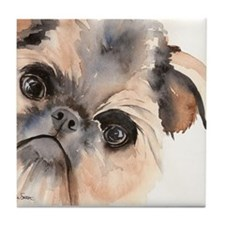 Brussels Griffon Stuff Tile Coaster