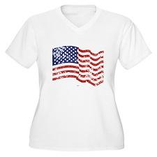 American Flag Wav T-Shirt