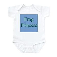 Funny Frog princess Infant Bodysuit