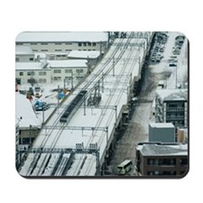 Commuter Train Mousepad