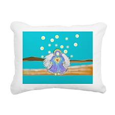 Angel of Healing Rectangular Canvas Pillow