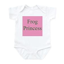 Unique Frog princess Infant Bodysuit