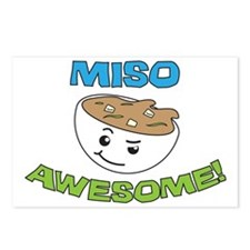 Miso Awesome! Postcards (Package of 8)