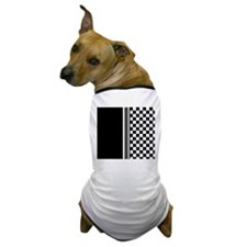 Stylish designer Stripes and checks Dog T-Shirt