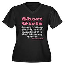 Short Girls (Pink2) Plus Size T-Shirt