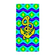 Pattern Anchor Beach Towel