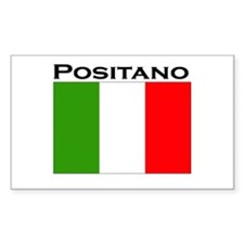 Positano, Italy Rectangle Decal