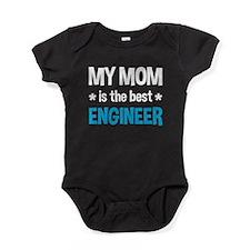 Best Engineer Mom Baby Bodysuit
