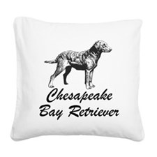 Chesapeake Bay Retriever Square Canvas Pillow