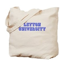 Leyton University Tote Bag