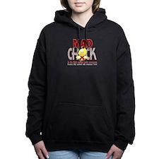 Brain Aneurysm Mad Chick 1 Hooded Sweatshirt