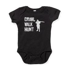 Crawl Walk Hunt Baby Bodysuit