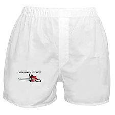 Custom Chainsaw Boxer Shorts