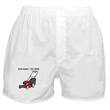 Custom Red Lawnmower Boxer Shorts