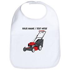 Custom Red Lawnmower Bib