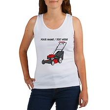 Custom Red Lawnmower Tank Top