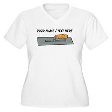 Custom Concrete Finishing Trowel Plus Size T-Shirt