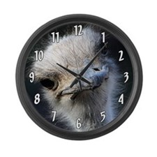 Ostrich Large Wall Clock
