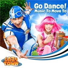 Lazytown Go Dance Cd