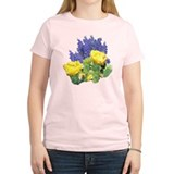 CACTUS FLOWERS AND BLUEBONNET T-Shirt