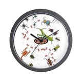 Cute Scorpions Wall Clock